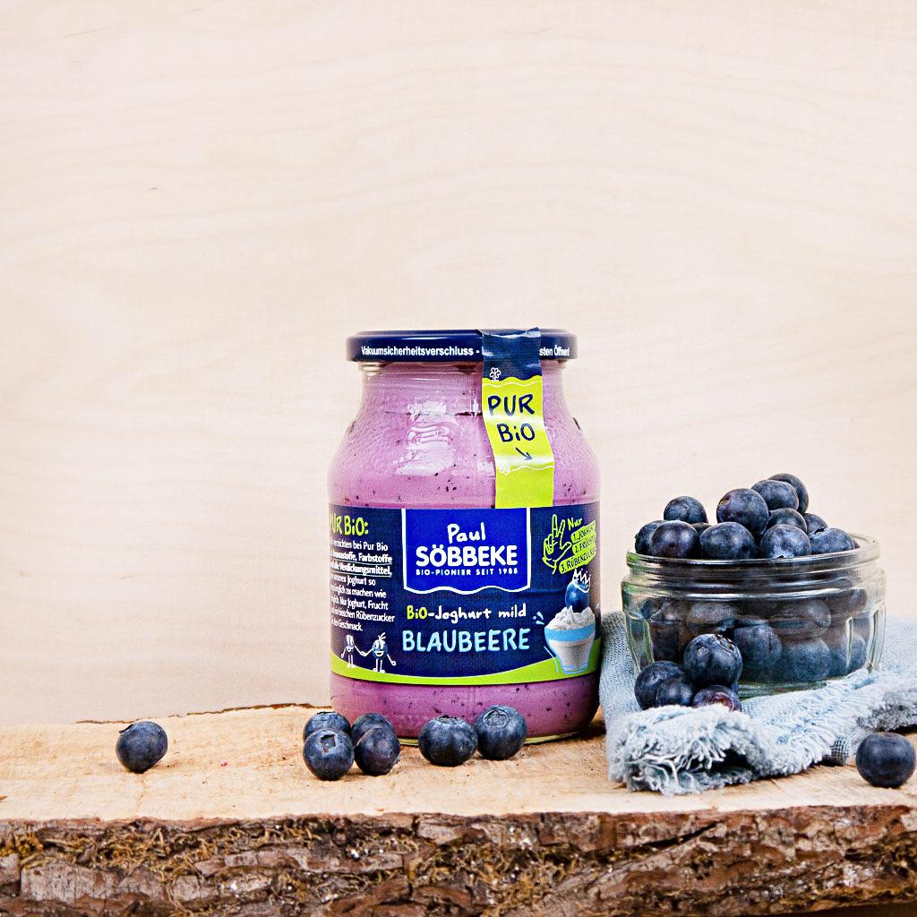 Joghurt Blaubeere 3,8% (Bio)