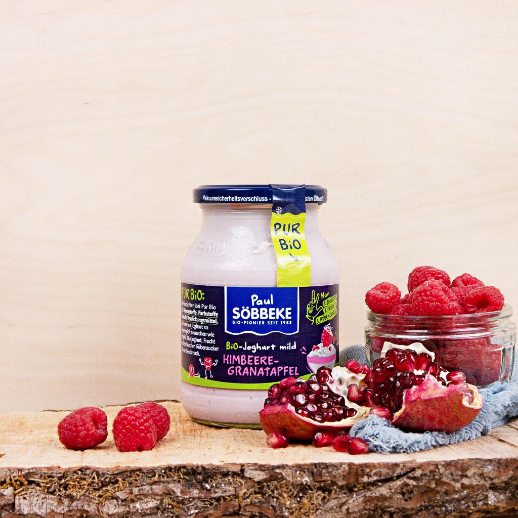 Joghurt Himbeere-Granatapfel 3,8% (Bio)